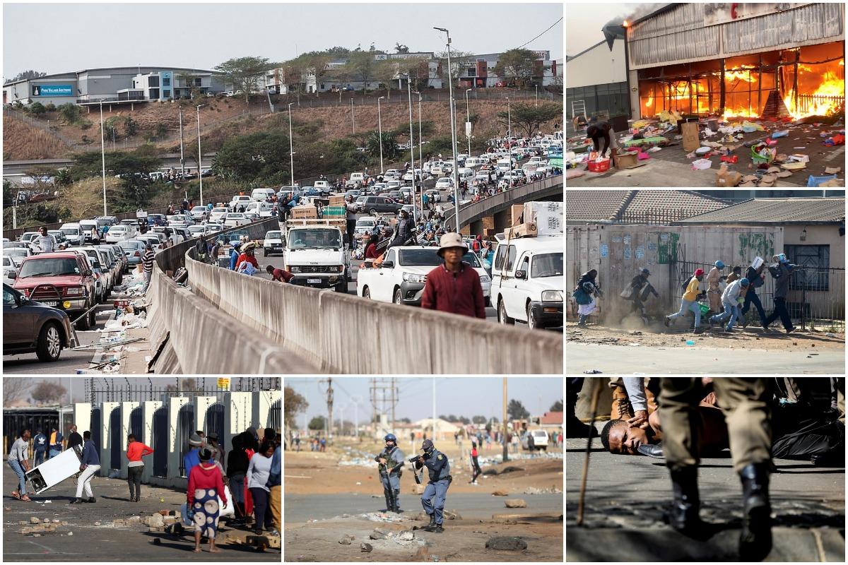 Южная Африка в хаосе: по меньшей мере 72 человека погибли в беспорядках по всей стране