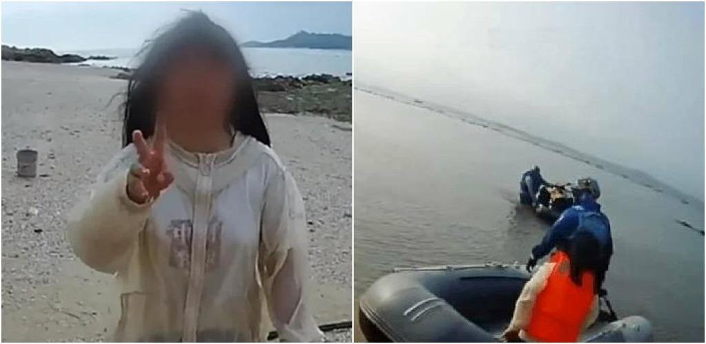 В Китае родители проучили 13-летнюю непослушную дочь, отправив её на необитаемый остров за 2 тыс. км