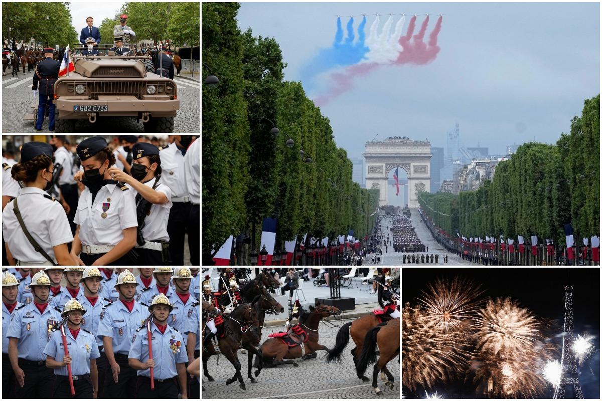 Франция отметила День Взятия Бастилии военным парадом