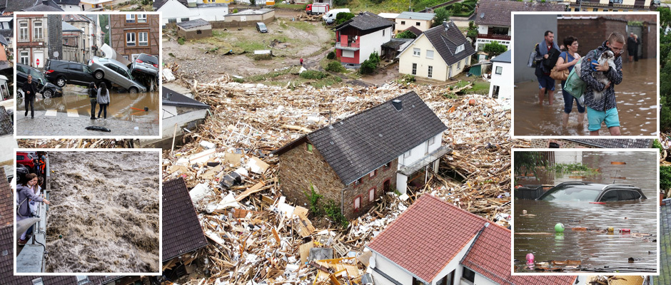 Внезапное наводнение вызвало хаос в Европе: более 68 погибших и десятки пропавших без вести