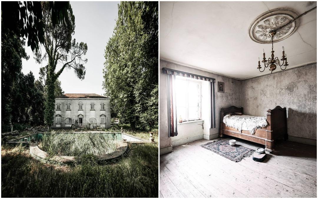 Оставленные людьми места на фотографиях Валери Лерой