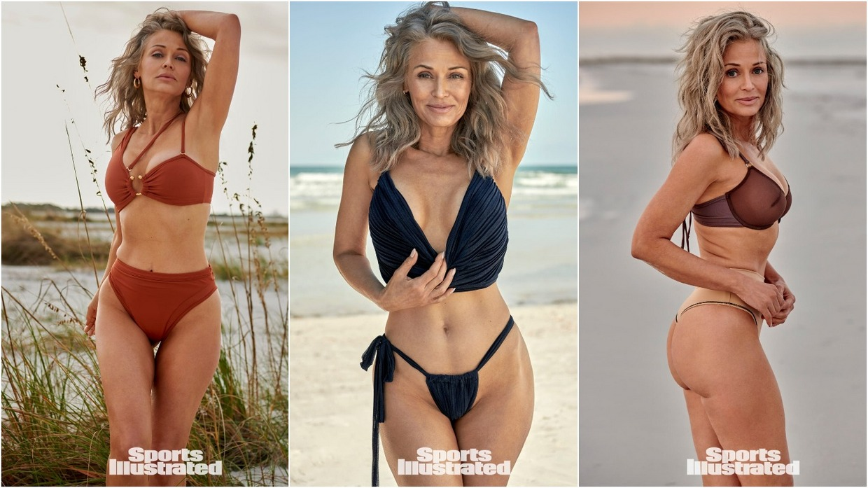 57-летняя Кэти Джейкобс в купальниках