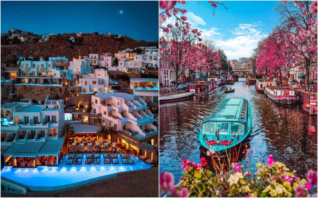 Красивые фотографии из путешествий Грегори Комнинеллиса