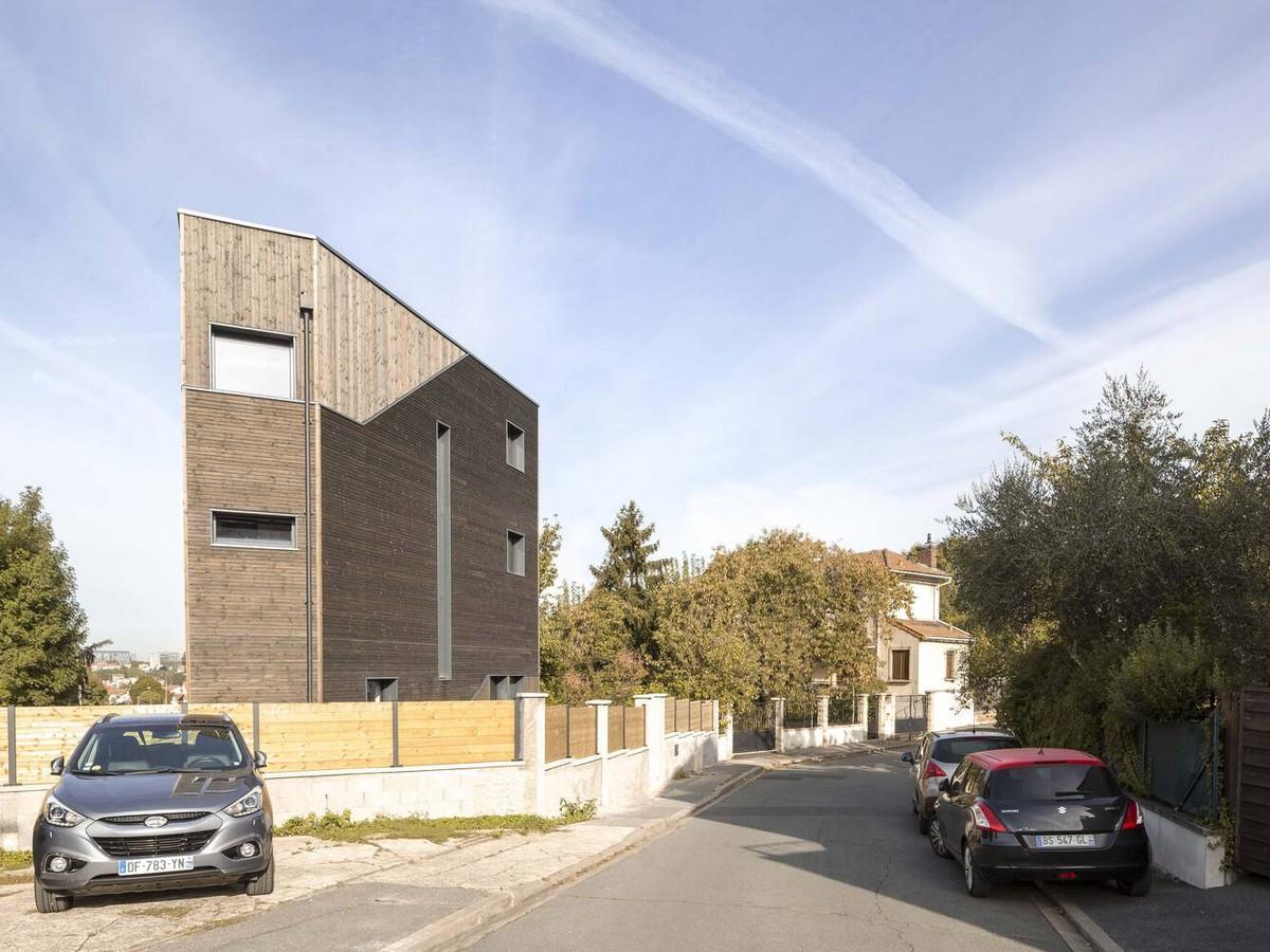 Семейный дом призматической формы с оптимальными характеристиками во Франции