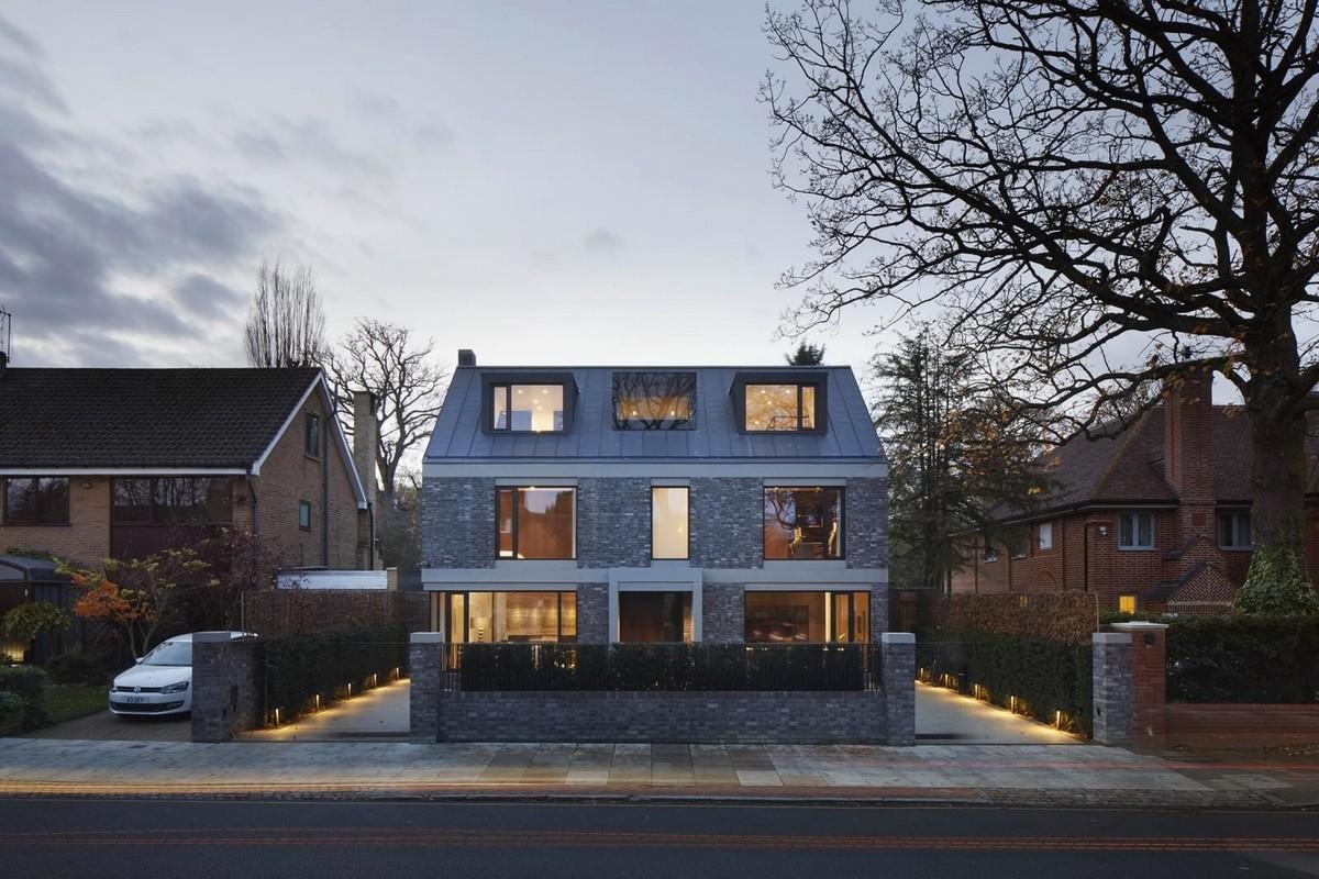 Дом для строителя в Лондоне