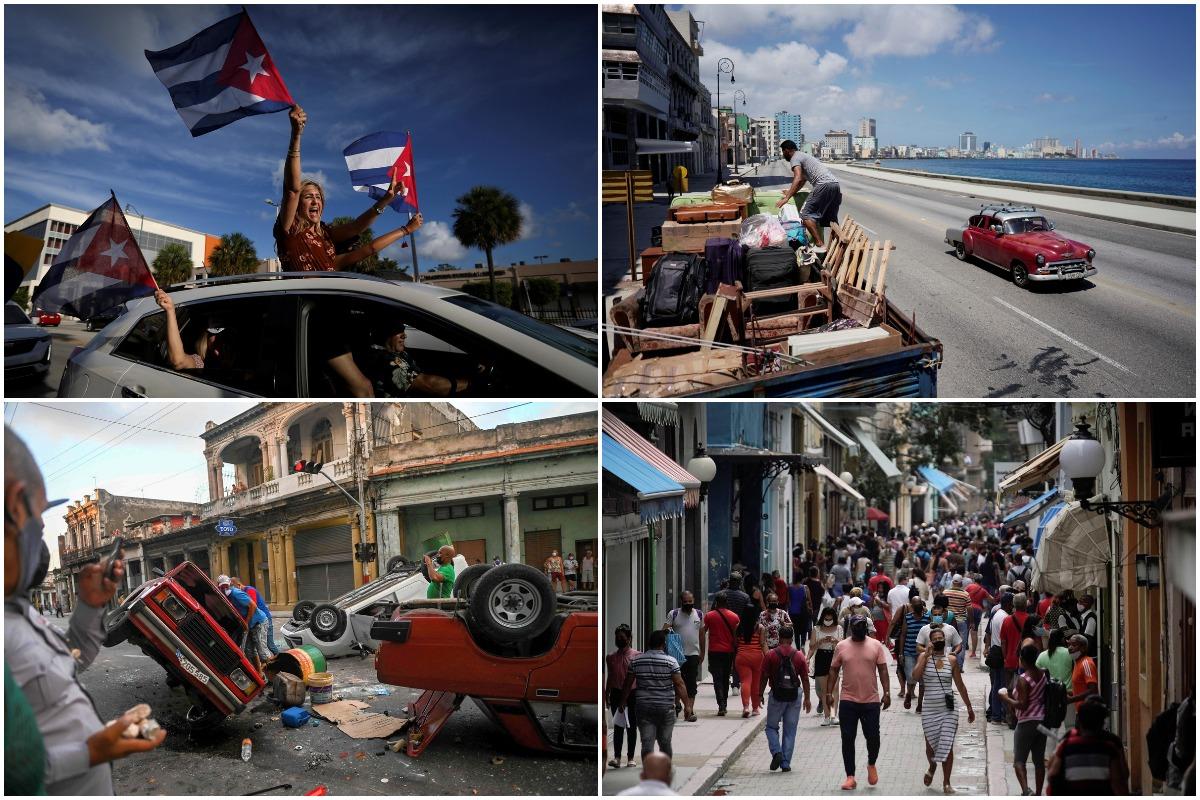 Июльские снимки, сделанные на Кубе