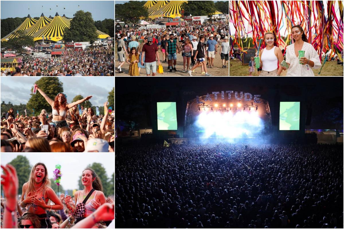 40 000 человек насладились шоу без социальной дистанции и масок на музыкальном фестивале Latitude