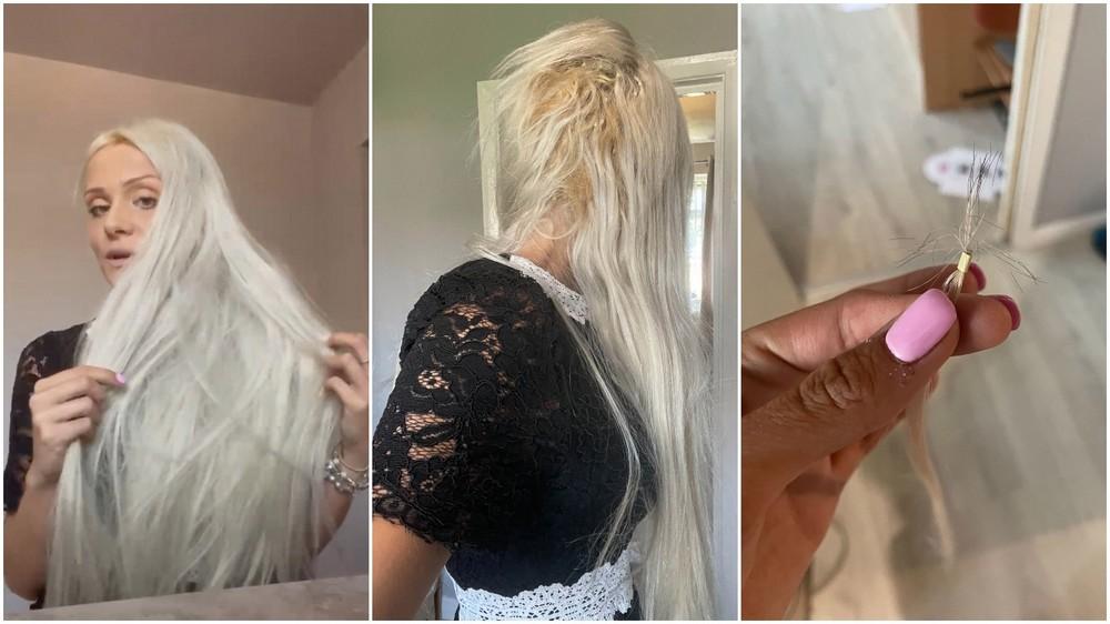 Британка заплатила £425 за наращивание волос, а они оказались лошадиные вместо человеческих