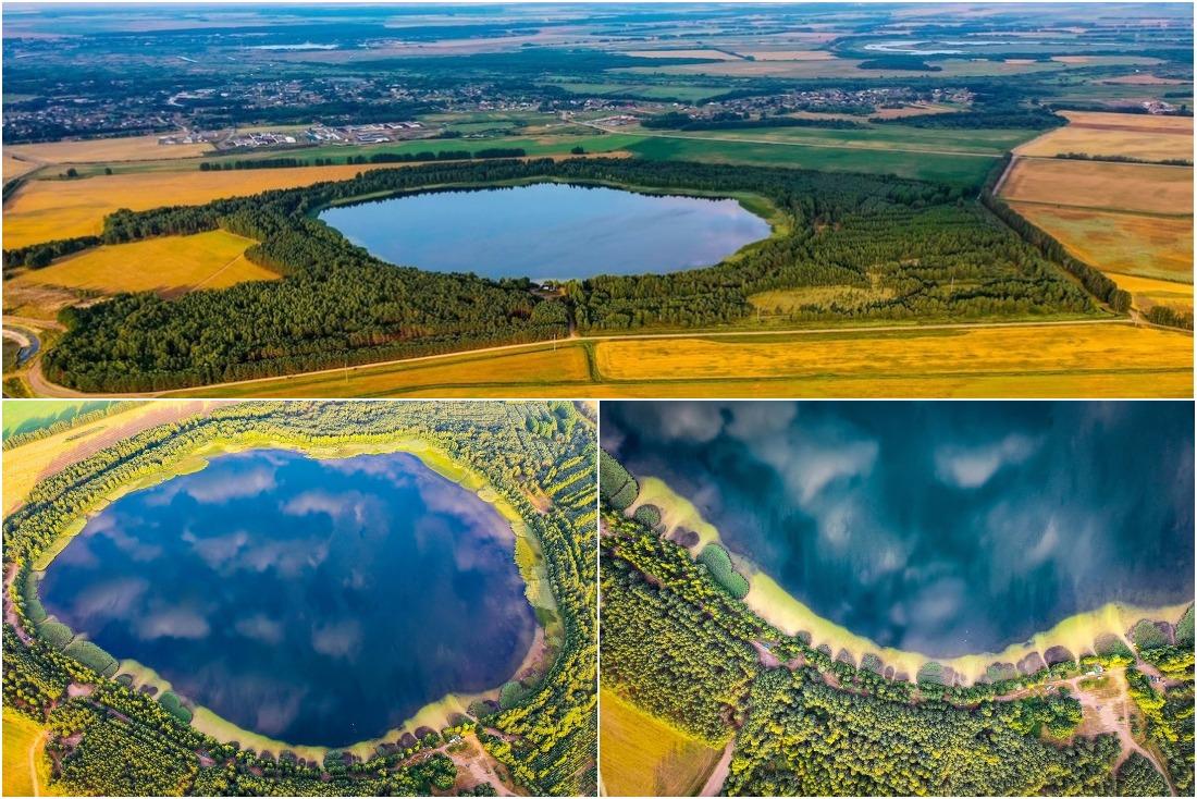 Оно почти круглое: удивительное белорусское озеро, где можно классно отдохнуть
