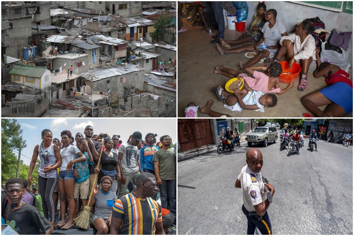 Июльские кадры, сделанные на Гаити