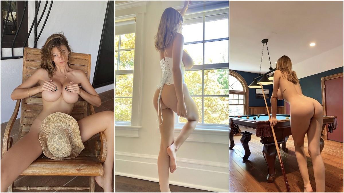 Горячие снимки Эшли Терворт из Only Fans и социальных сетей