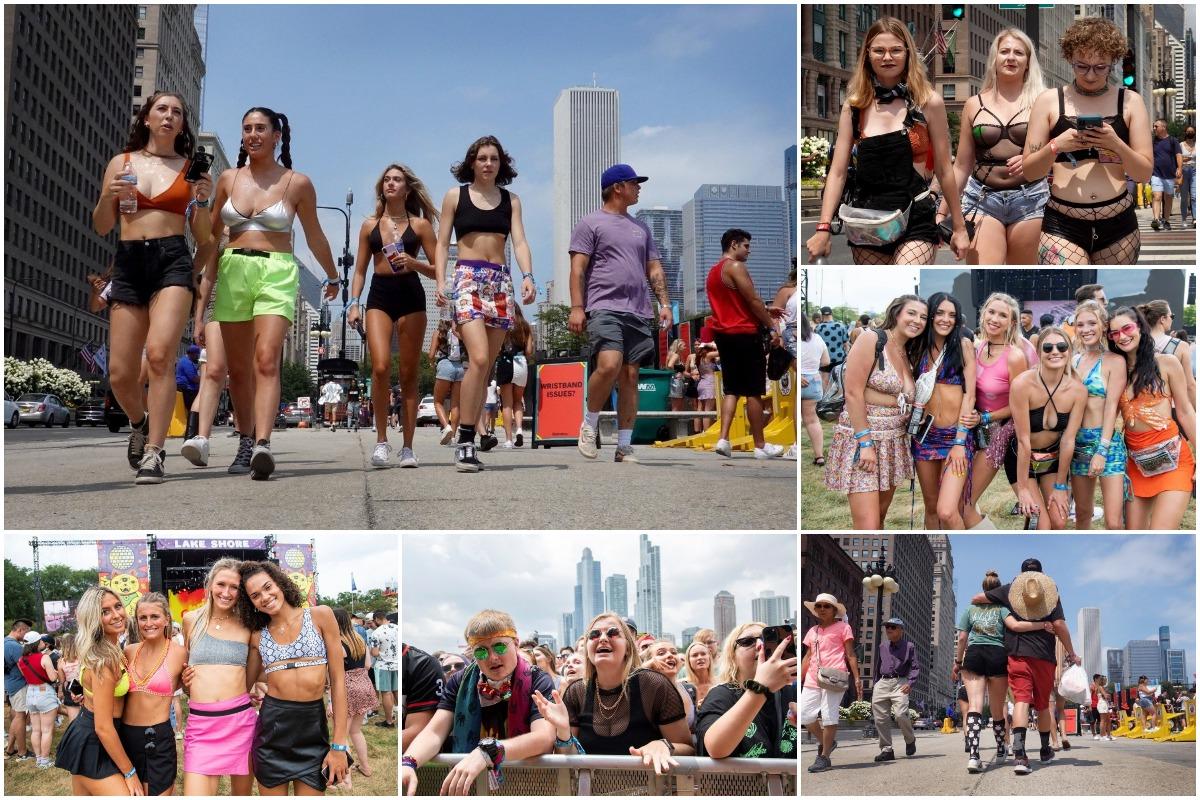 Музыкальный фестиваль Lollapalooza в Чикаго