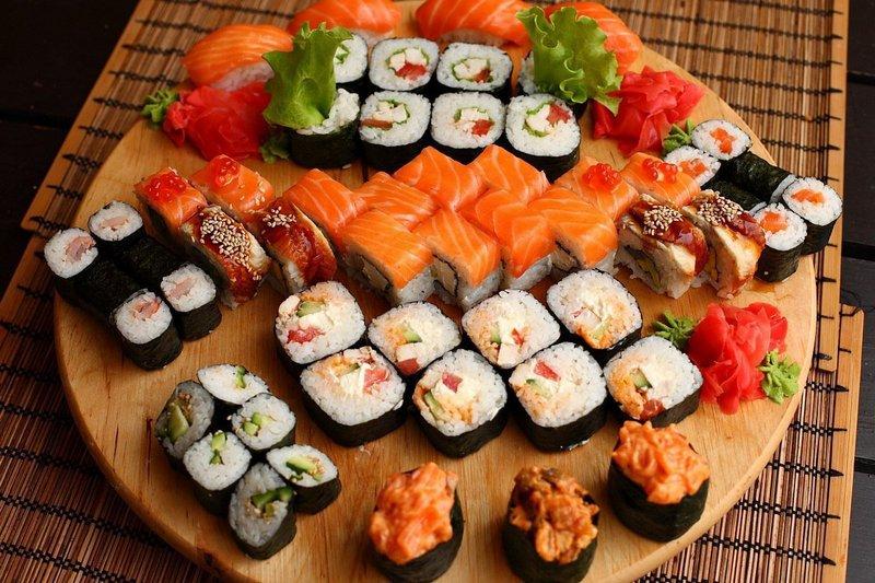Вкусные факты о суши