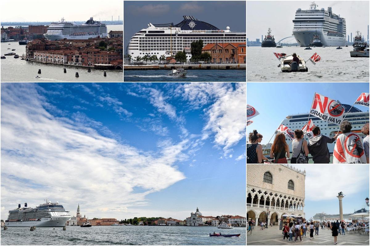 В Венеции запретили большие круизные лайнеры, чтобы не потерять статус Всемирного наследия ЮНЕСКО