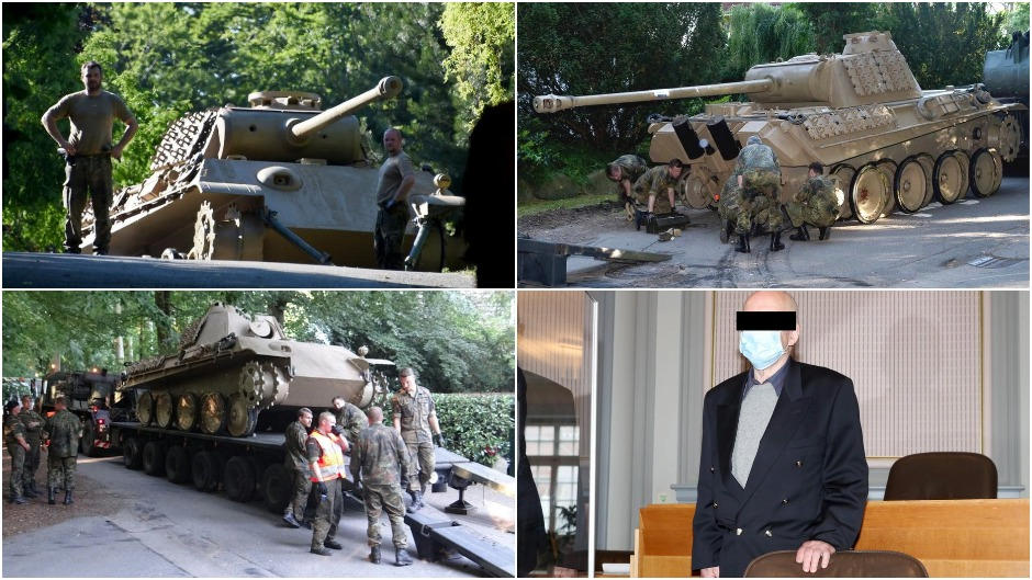 Немецкий пенсионер пошел под суд за то, что прятал на своем участке танк