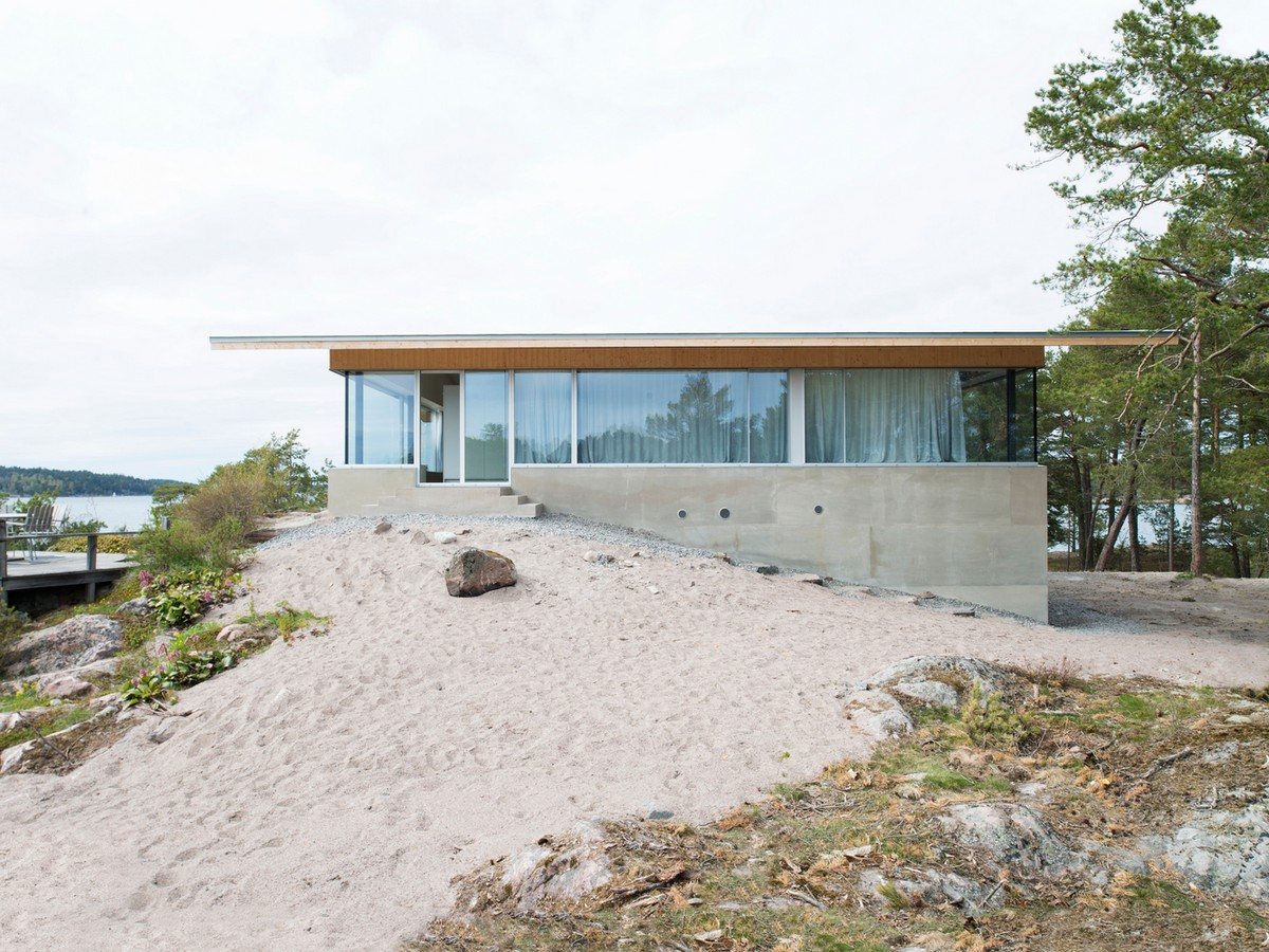 Резиденция на частном острове Стокгольмского архипелага в Швеции