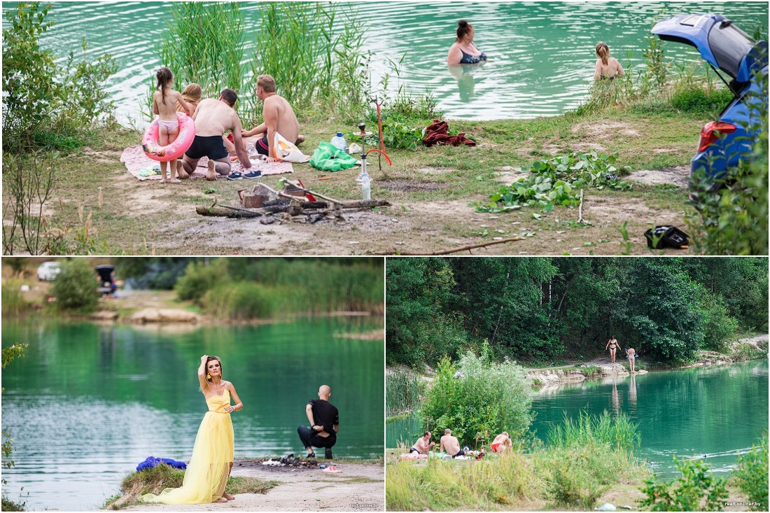 Толпы людей, изумрудная вода и жуткая глубина: туристы осваивают замену «белорусским Мальдивам»