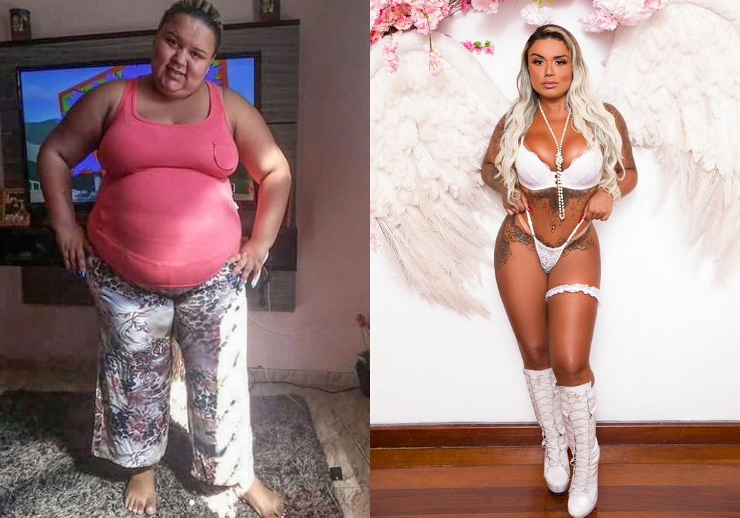 Впечатляющее преображение девушки, весившей 140 кг