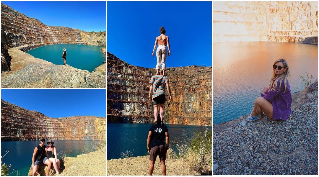Заброшенный урановый рудник с бирюзовой водой привлекает туристов со всей Австралии