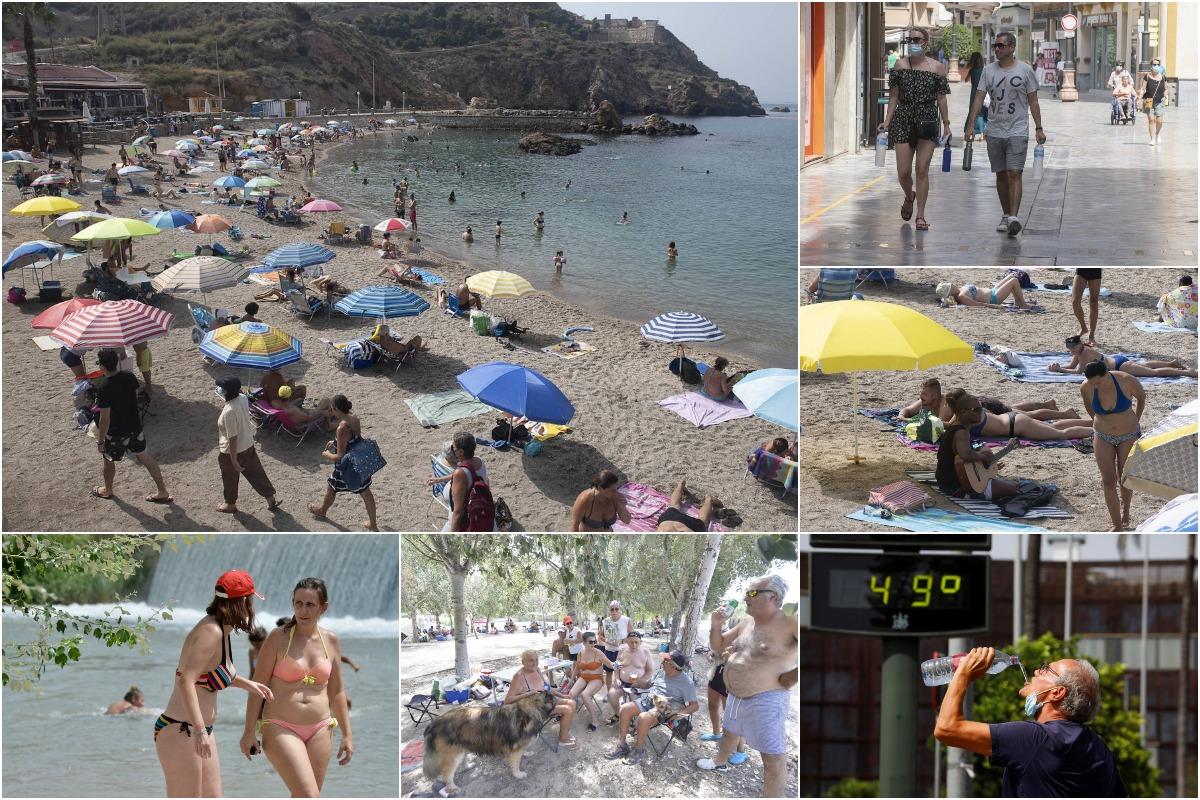 Жара бьет рекорды в Испании