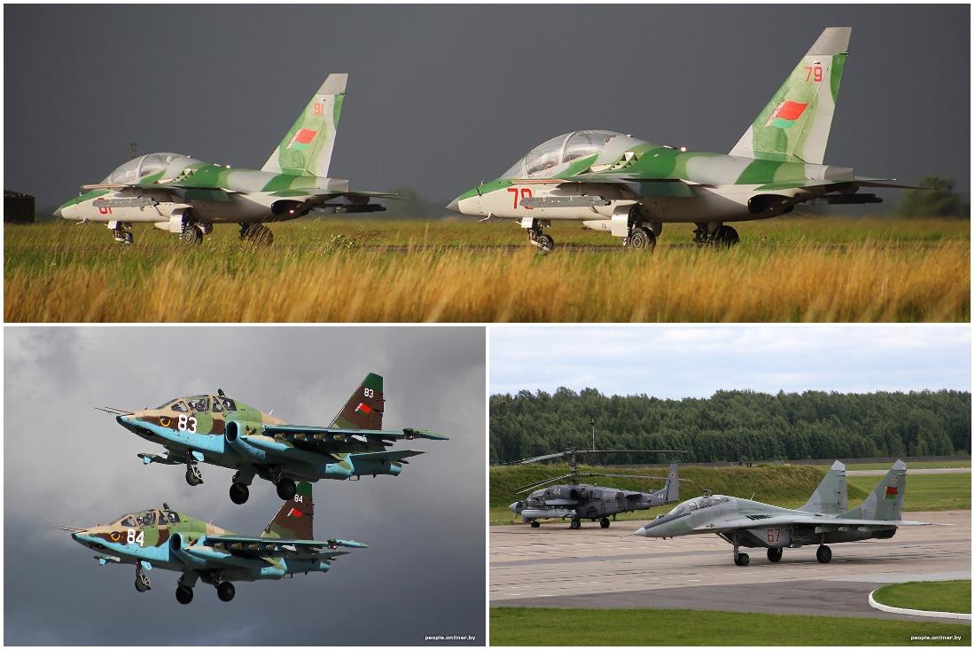 Споттинг авиации: самолеты ВВС Республики Беларусь