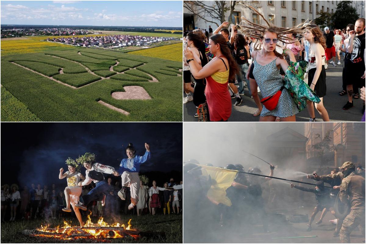 Интересные фотографии из Украины