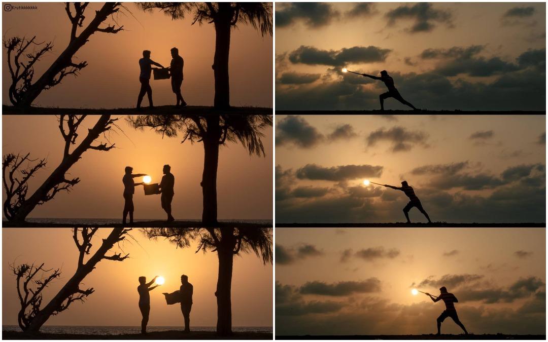 В погоне за солнцем: индийский фотограф показывает, как небанально сфотографировать закат