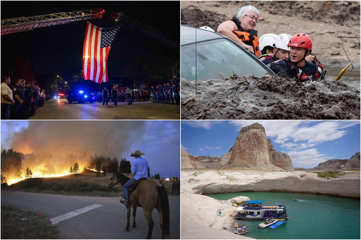 Августовские фотографии из США
