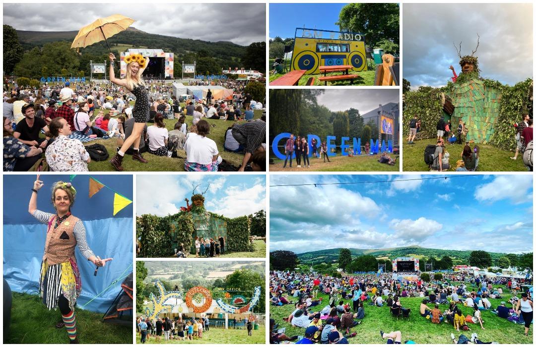 Green Man Festival в Южном Уэльсе