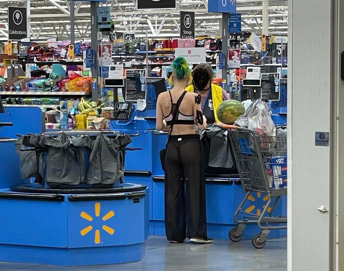 Экстравагантные покупатели Walmart (24.06.21)