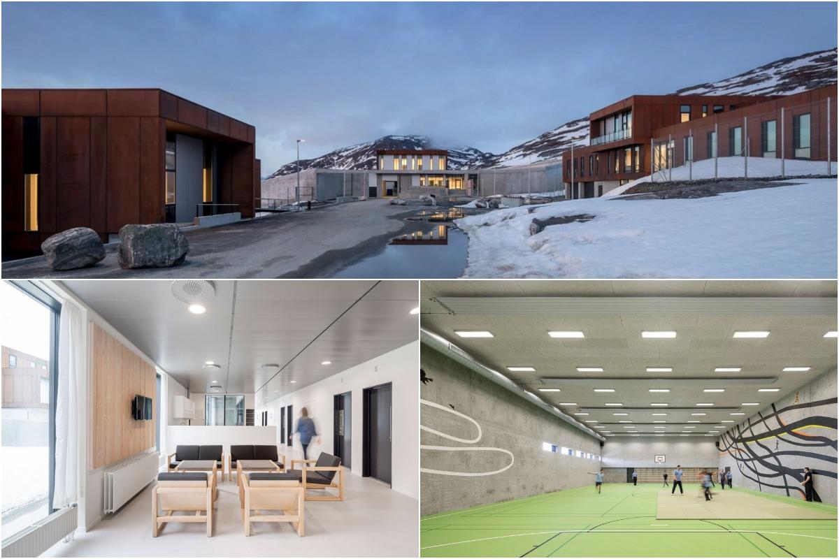 Тюрьма в Гренландии, которая больше похожая на роскошный отель