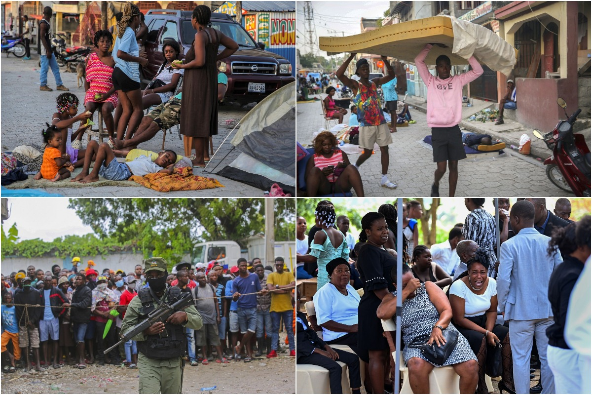 Августовские снимки из Гаити