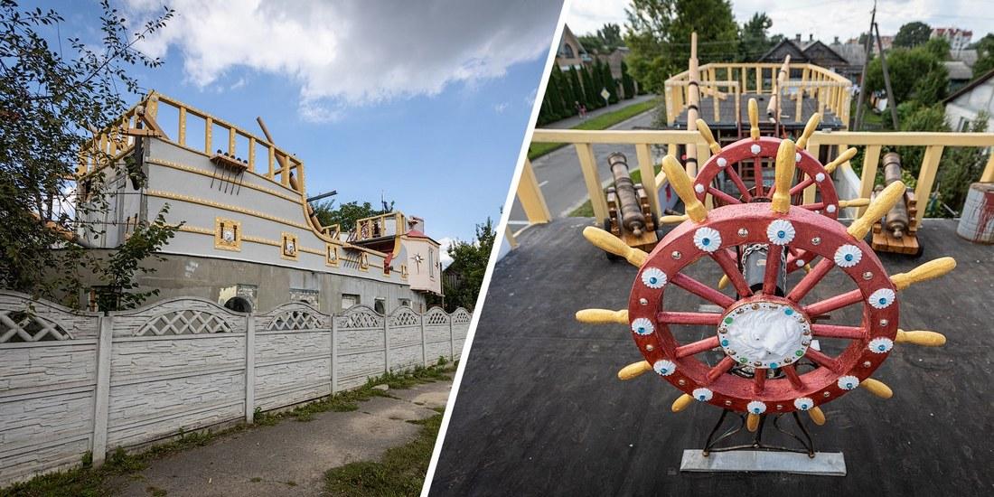 Один из самых странных домов в Беларуси