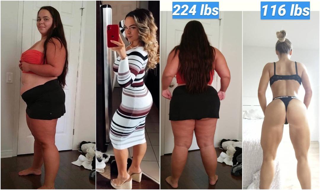 101-килограммовая девушка похудела на 36 кг и изменилась до неузнаваемости