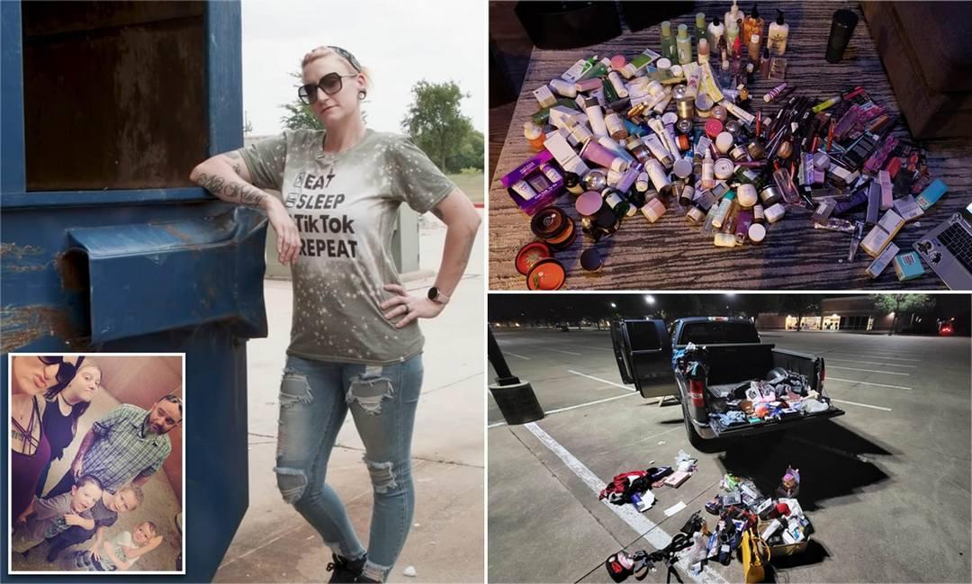 Мать 4-х детей уволилась с работы и зарабатывает $1000 в неделю, продавая вещи, найденные в мусорках