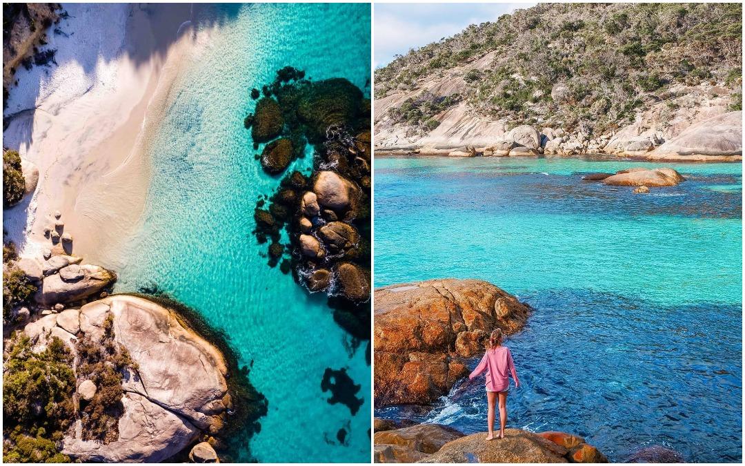 Один из самых красивых нетронутых пляжей Австралии
