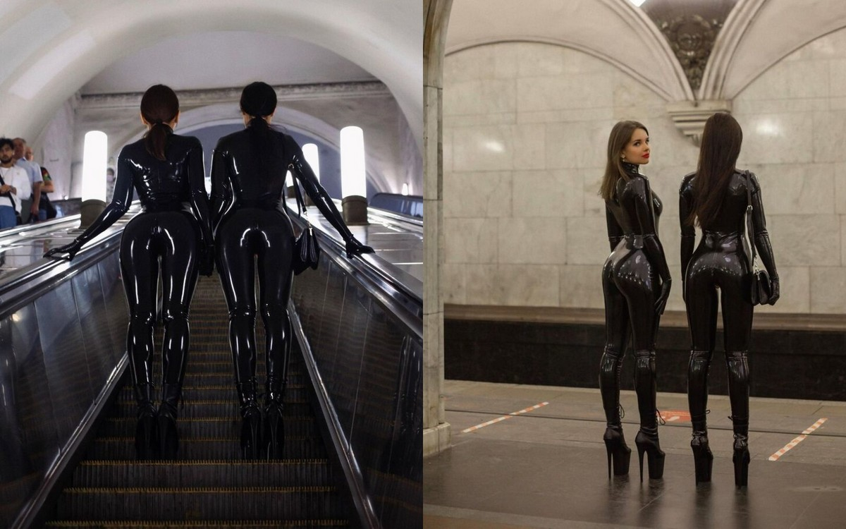 Модники из российского метрополитена 30.08.21