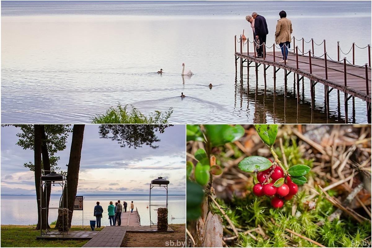 Скоро осень: живописная смена поры года в окрестностях озера Нарочь