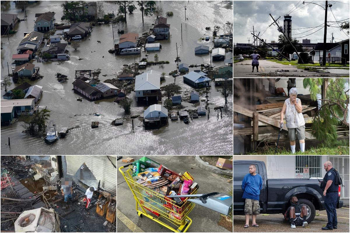 После урагана Ида Новый Орлеан страдает от грабежей