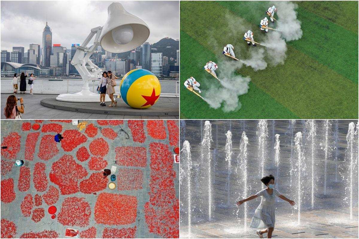 Августовские фотографии из Китая