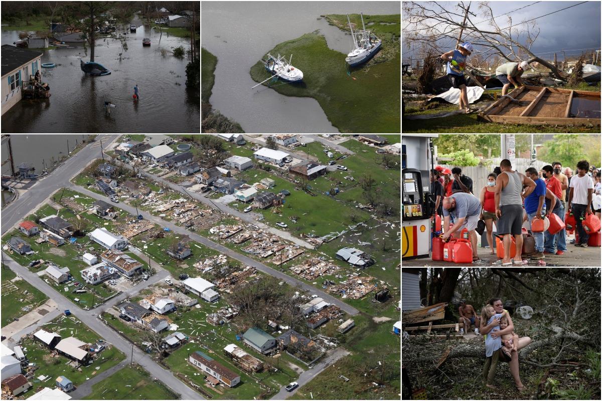 Последствия урагана «Ида», пронесшегося по Луизиане