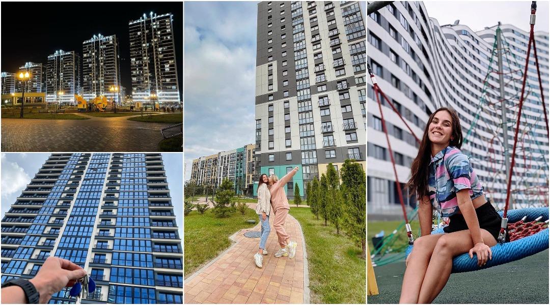 Жизнь в современных жилых комплексах Минска по версии Instagram