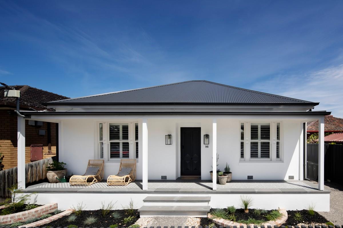 Реконструкция старого дома в пригороде Мельбурна