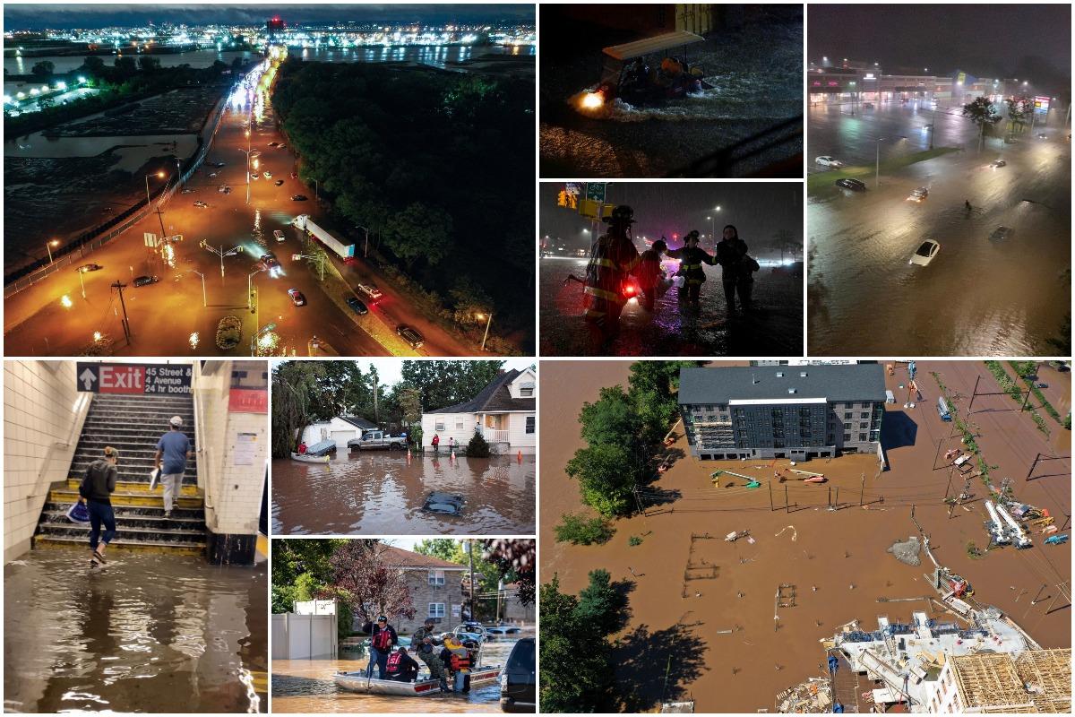Остатки урагана «Ида» наделали бед в Нью-Йорке, Нью-Джерси, Пенсильвании, Мэриленде и Коннектикуте