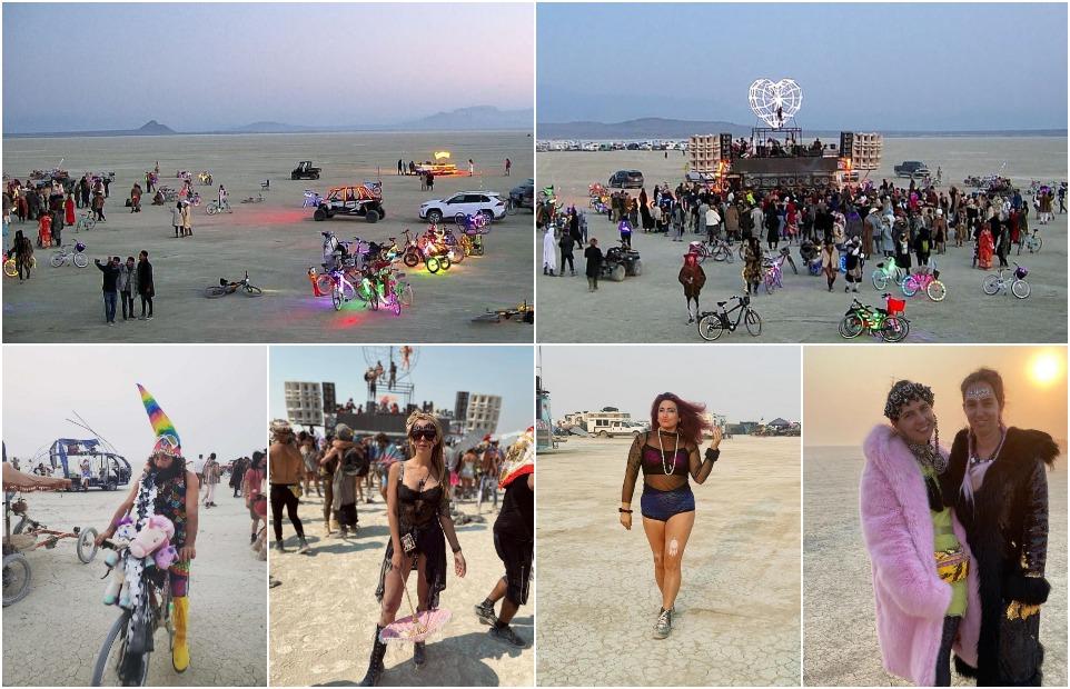 Неофициальный фестиваль Burning Man стартовал в эти выходные в пустыне Блэк-Рок