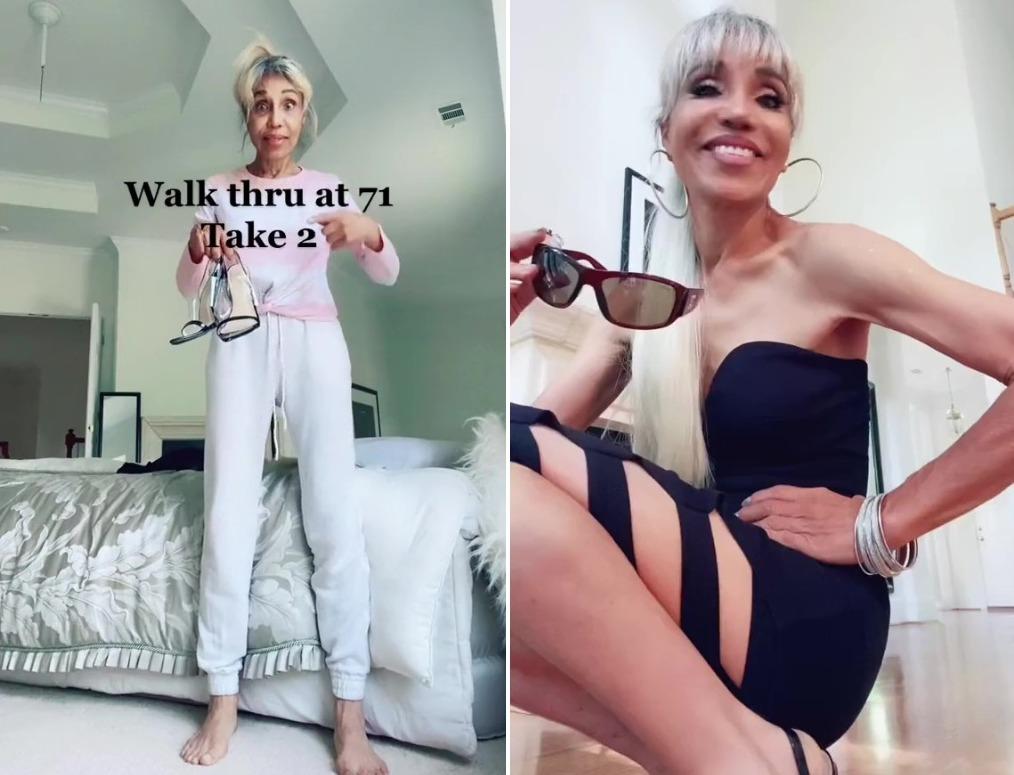 71-летняя блогерша из США стала выглядеть на 40 лет моложе и прославилась в сети