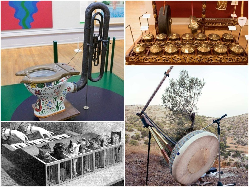 Самые необычные музыкальные инструменты