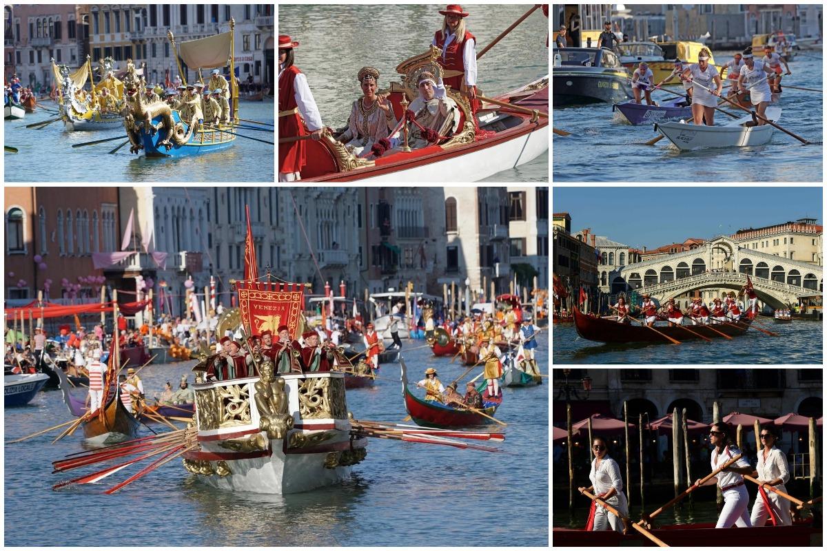 Яркая Историческая Регата прошла в Венеции