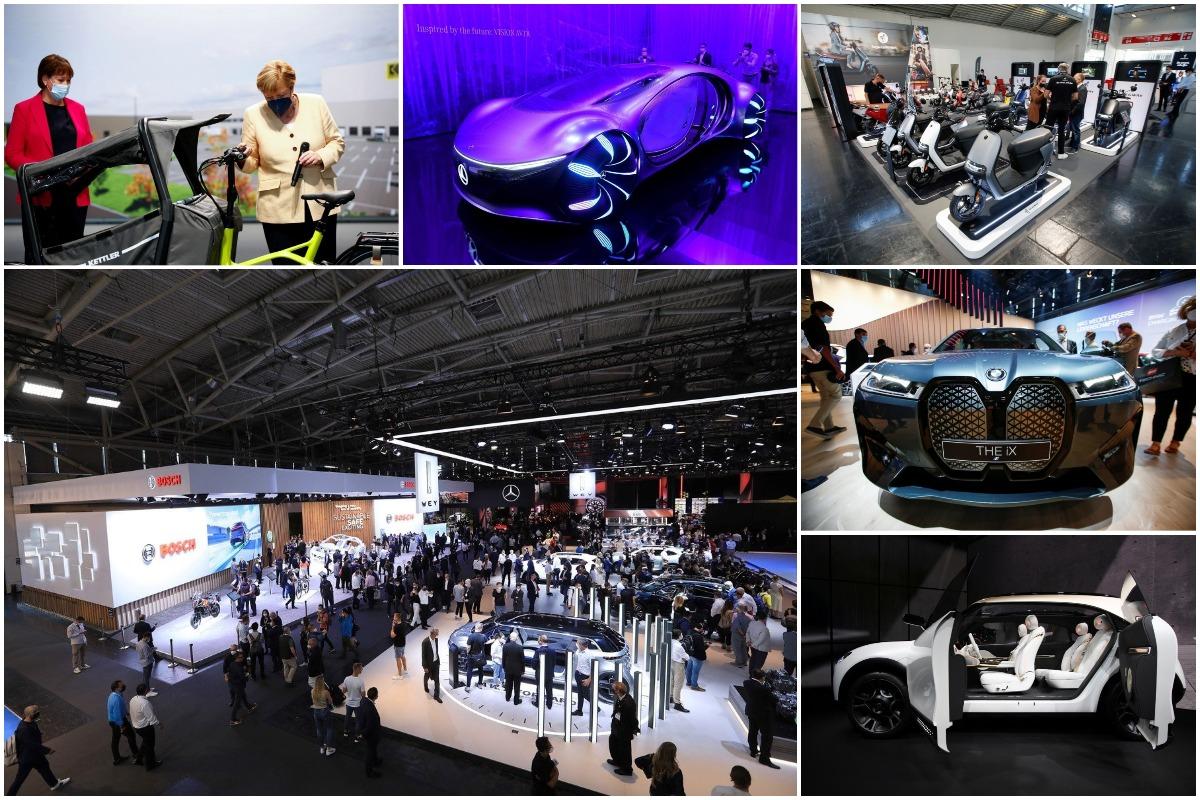 Новые концепты автомобилей, представленные на автосалоне в Мюнхене