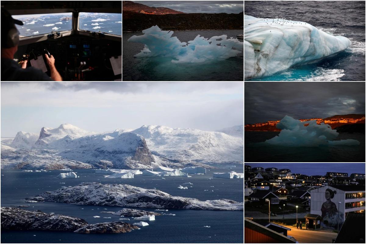 Это не будущее, это настоящее: изображения таяния ледников и потери ледяного покрова Гренландии